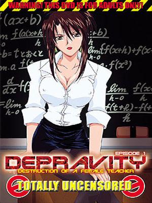 Daraku: Onna Kyoushi Hakai  (03/03) Sin Censura por Mega-Mediafire HDL Sub Español