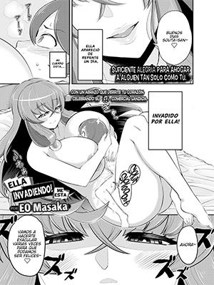 Ella me está invadiendo!【Manga Hentai】 Español-Mega-Mediafire
